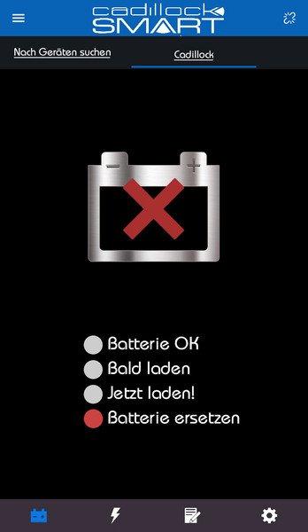 batterie ersetzen